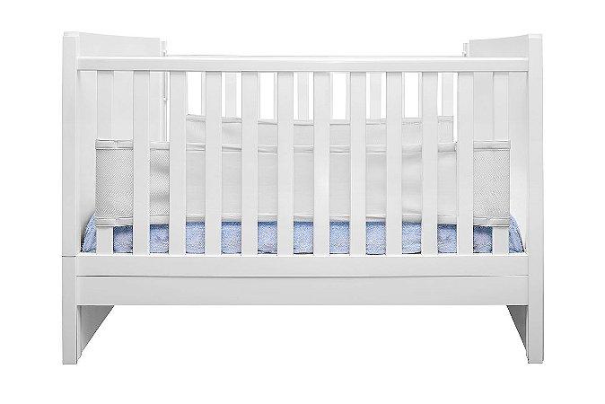Tela Protetora de Berço Air Baby Branca