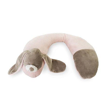 Suporte Pescoço Cachorro Rosa