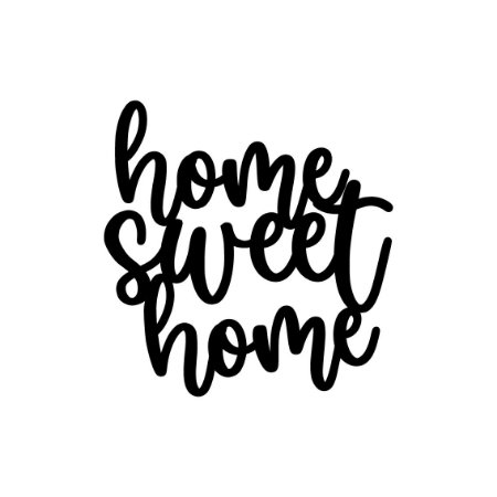 Lettering Home Sweet Home