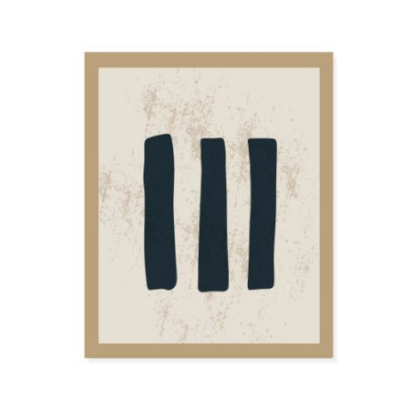 Placa Decorativa Modern 3