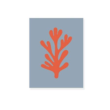 Placa Decorativa Alga 1