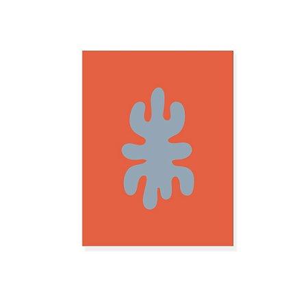 Placa Decorativa Alga 2