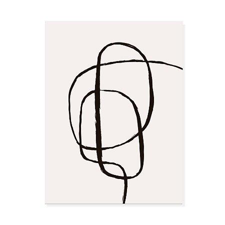 Placa Decorativa Abstrato 2