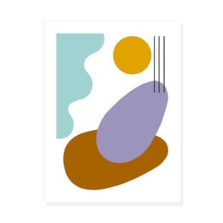 Placa Decorativa Organico 1