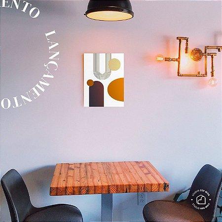 Placa Decorativa Organico 3