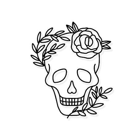 Decorativo Skull
