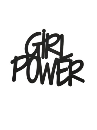 Lettering Girl Power