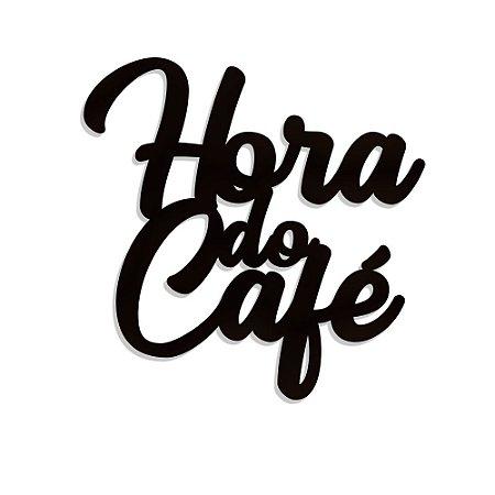 Lettering hora do café