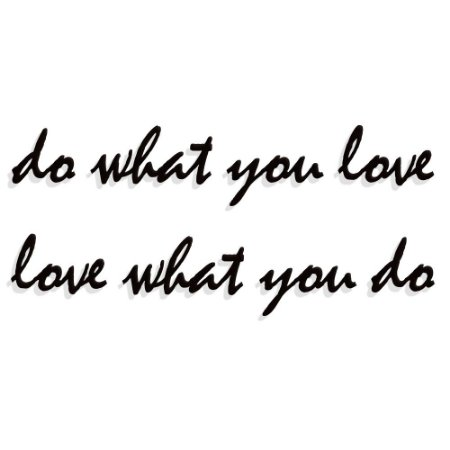 Frase Do what you Love