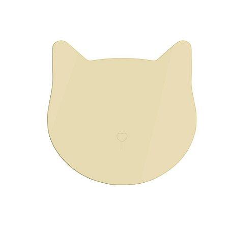 Espelho Dourado Gato