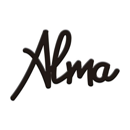 Lettering ALMA