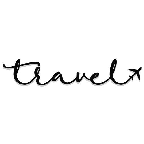 Lettering Travel