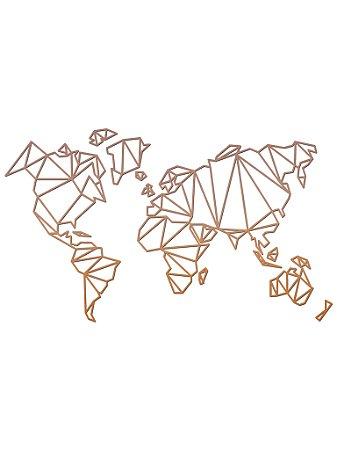 Mapa Geométrico PEQUENO COBRE