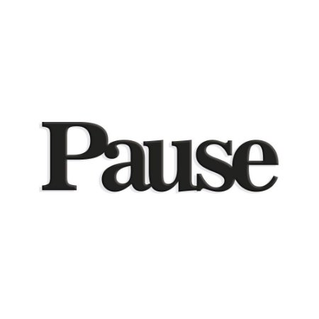 Lettering Pause