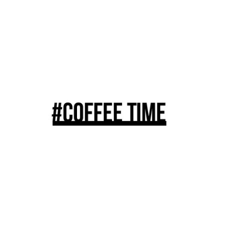 Lettering  #coffee time