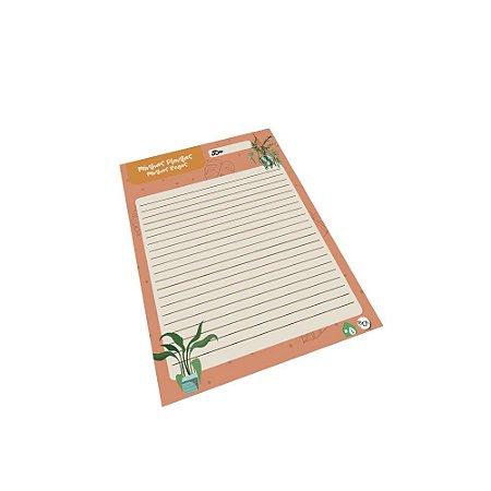 Planner diário  Minhas Plantas