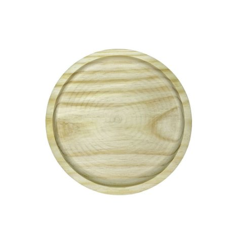 Tábua de Madeira Pinus Circular