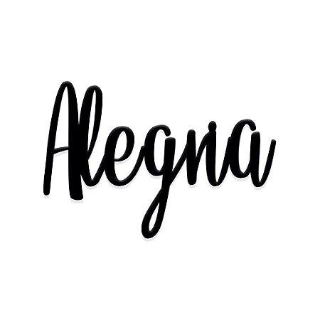 Lettering Alegria
