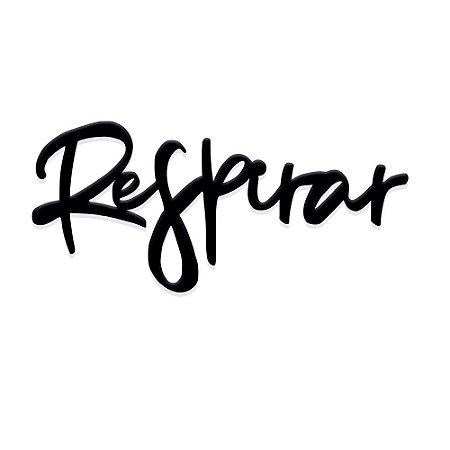 Lettering Respirar