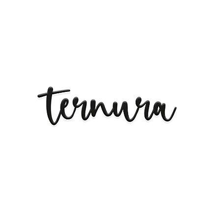 Lettering de parede Ternura