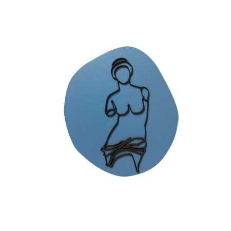 Escultura de Parede Afrodite