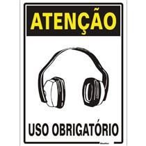 ATENÇÃO USO OBRIGATÓRIO PROTETOR