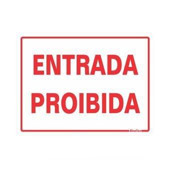 Entrada Proibido