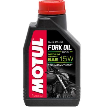 Oleo Motul Fork Oil Expert Medium-Heavy 15W 1Litro