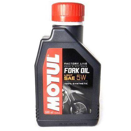 Oleo Motul Fork Oil 5W Factory Light 500Ml