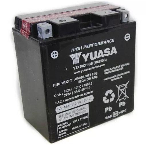 Bateria Yuasa Ytx20Ch.Bs