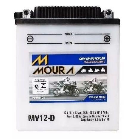 Bateria Moura Mv12-D