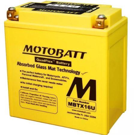 Bateria Motobatt Mbtx16U (Ytx16-Bs-Ytx20Ch-Bs)