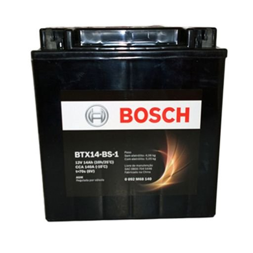 Bateria Bosch Btx14L-Bs1