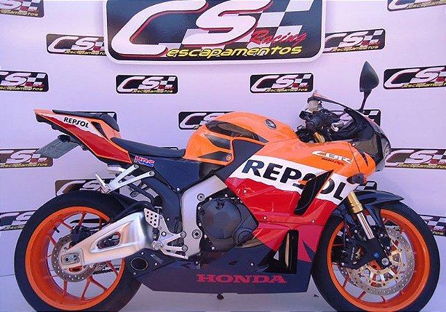 Escapamento Honda Cbr 600Rr 2013 sem abs Full Completo