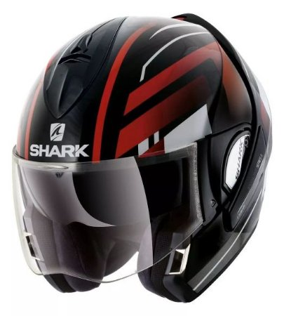 Capacete Shark Evoline S3 Corvus Kwr