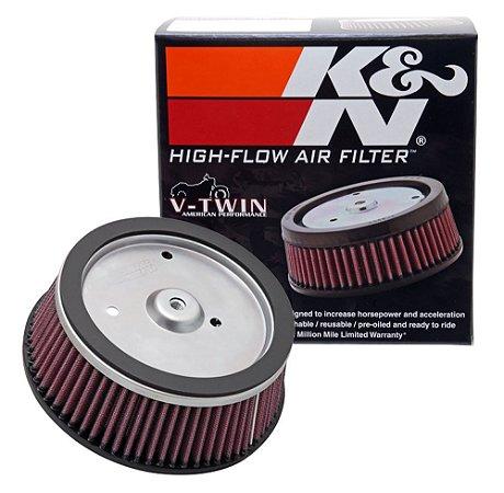 Filtro de ar kn HARLEY SCREAMIN EAGLE DYNA K&N HD-0800
