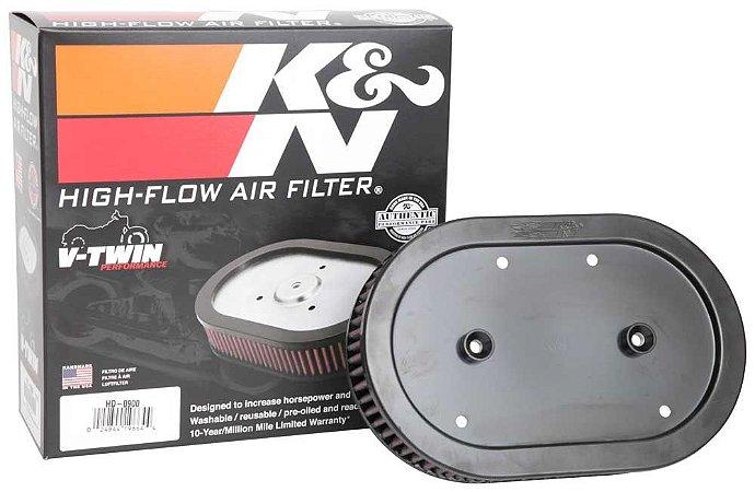Filtro de ar kn HARLEY SPORTSTER XL883 04/09 K&N HD-0900