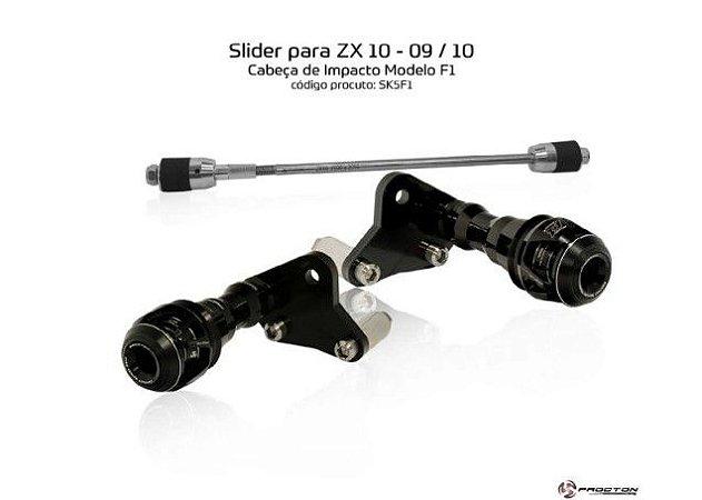 Slider zx10 09/10 Kawasaki Procton