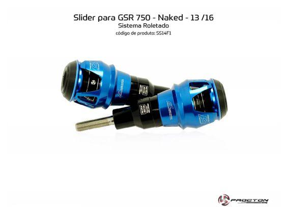 Slider Gsr 750 13 a 16 Suzuki Procton
