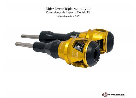 Slider Street Triple 765 Triumph 18/19 Procton