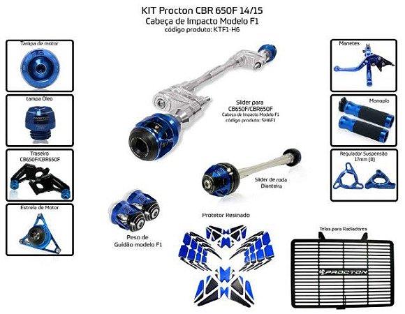 Kit Slider Cbr 650f 14/15 Procton (12 pçs)
