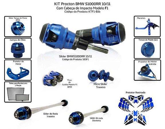 Kit Slider S1000rr 10/11 Procton ( 13 peças )