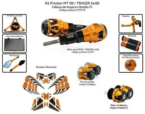 Kit Slider Mt09 14 a 20 Procton ( 10 peças )