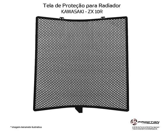 Protetor de radiador Kawasaki ZX 10R 08/19