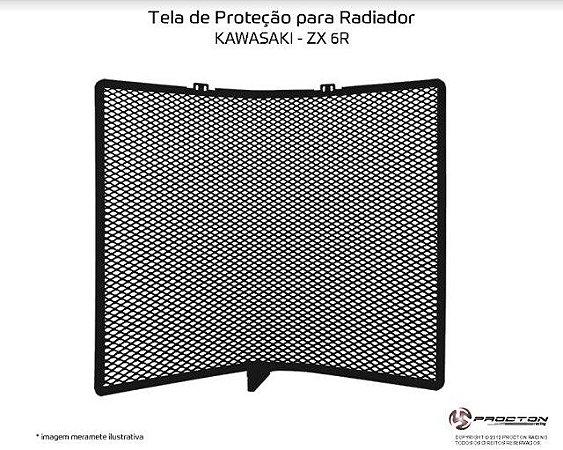 Protetor de radiador Kawasaki ZX 6R 10/19