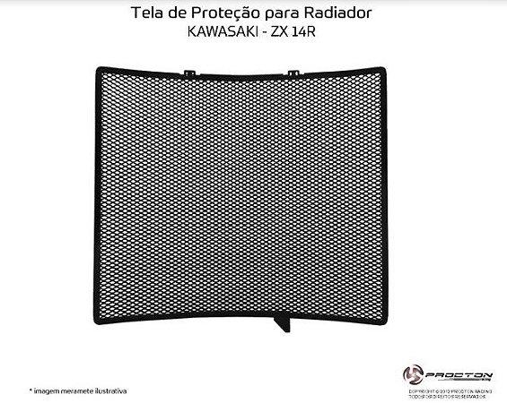 Protetor de radiador Kawasaki ZX 14R