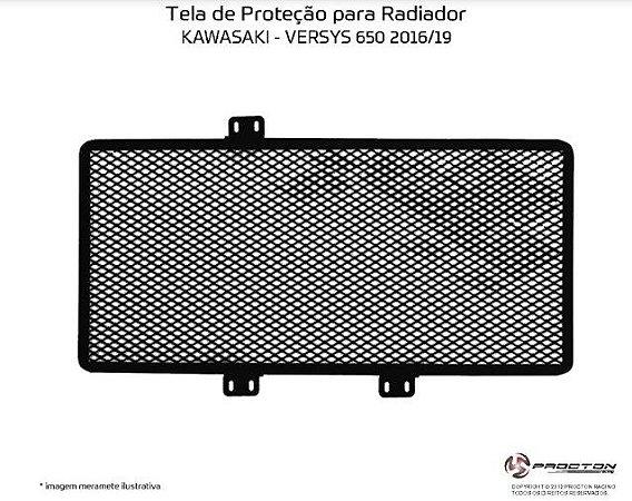 Protetor de radiador Kawasaki VERSYS 650 16/19