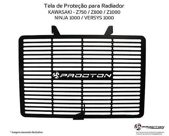 Protetor de radiador Kawasaki Z750