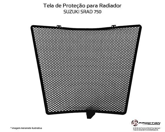 Protetor de radiador SUZUKI SRAD 750 14/17