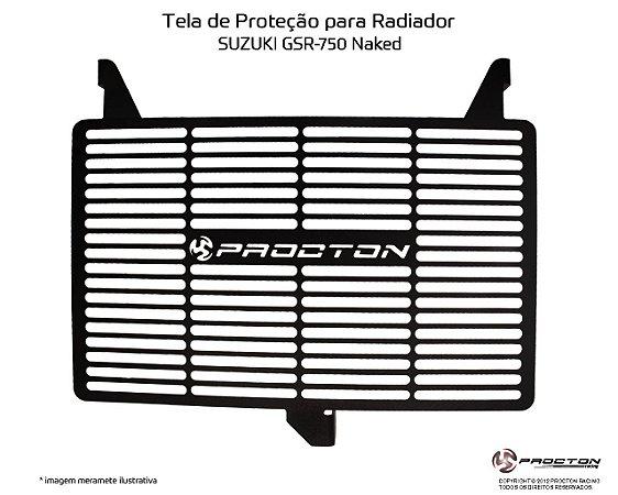 Protetor de radiador SUZUKI GSR 750 NAKED